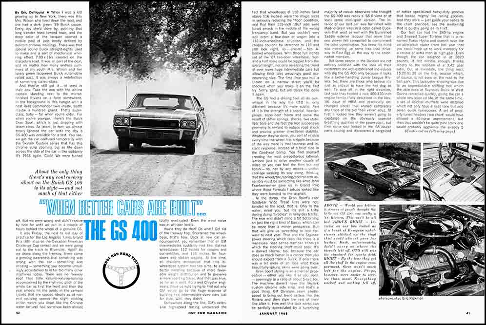 1968 Buick GS 400 Test