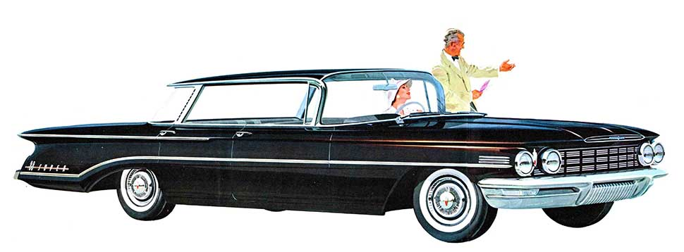 1960 Olds Super 88 4 door hardtop