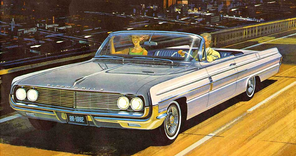 1962 Olds Dynamic 88 Convertible
