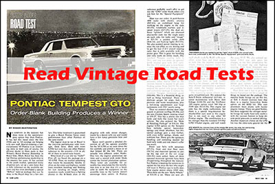 1955 GTO Road Test