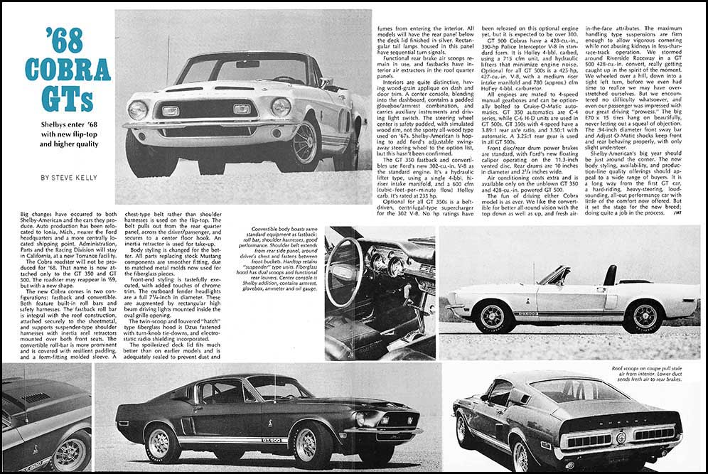 1968 Shelby GT Exposed