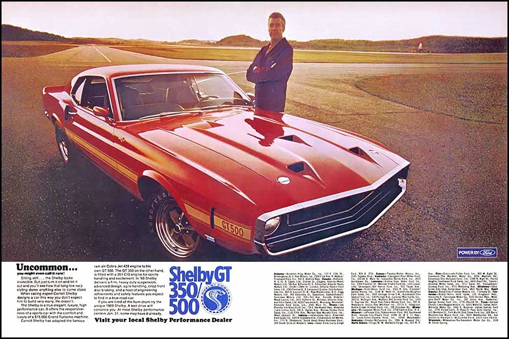 1969 Shelby Ad
