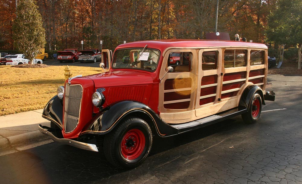 36 Ford Woody Truck