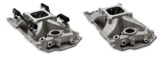 New Holley Manifolds