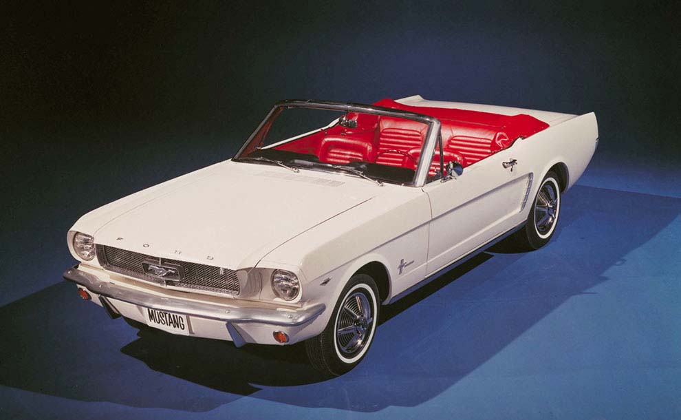 The first Mustang- 1965