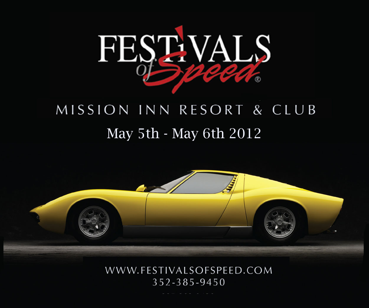 Join us at our festival of speed