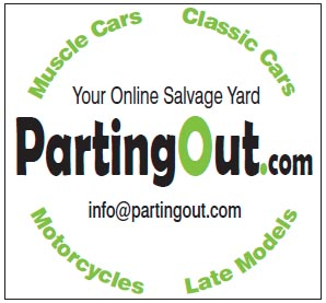 Parting Out.com - a market for every part!