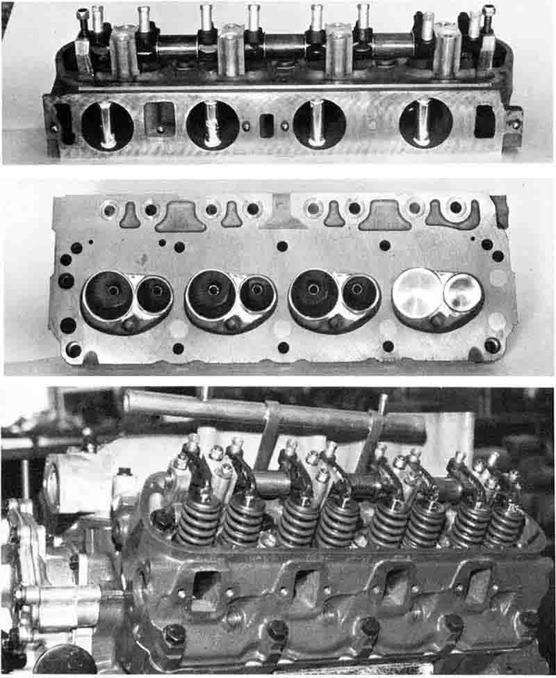 Ford 2 3 D Port Head: Ford 302 Tunnel Port Heads