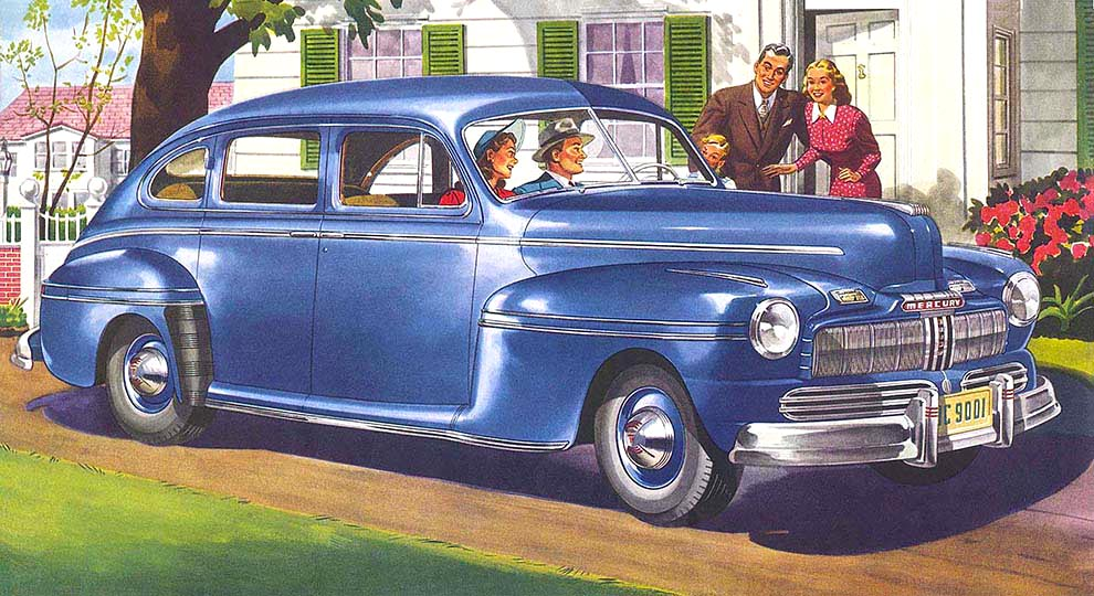 No limits magazine from wild about cars for 1946 mercury 4 door sedan