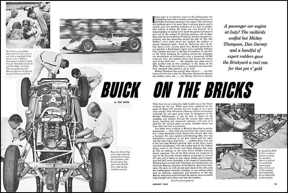 Buick Indy Car Exposed