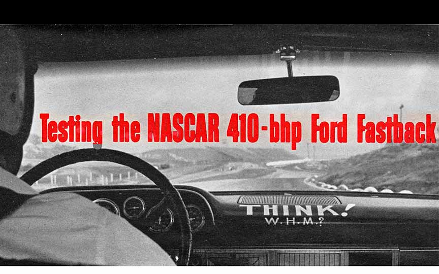 1963-64 NASCAR Ford Road Test