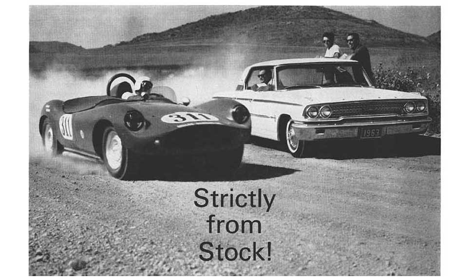 Ford Performance in 1963