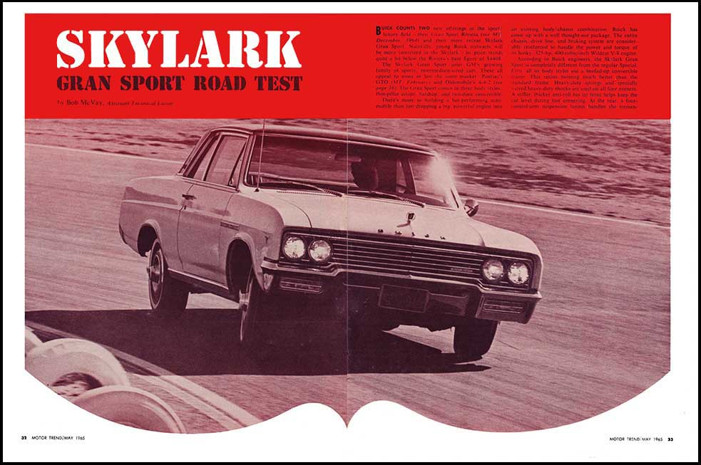 1965 Buick GS 400 Test