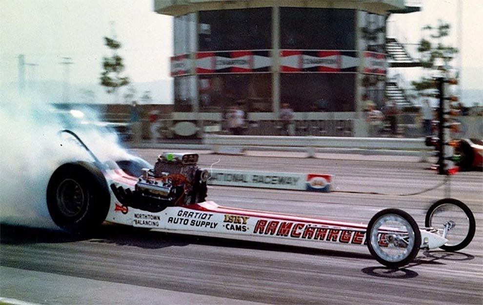 Ramchargers Dragster in 1967