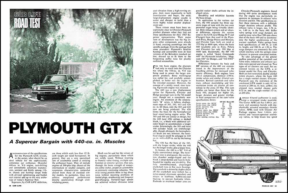 Auto History Preservation Society - Tech Pages Article