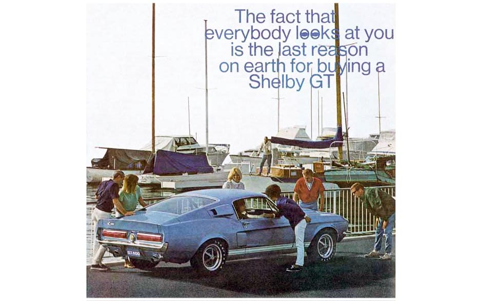 1967 Shelby Mustang Ads