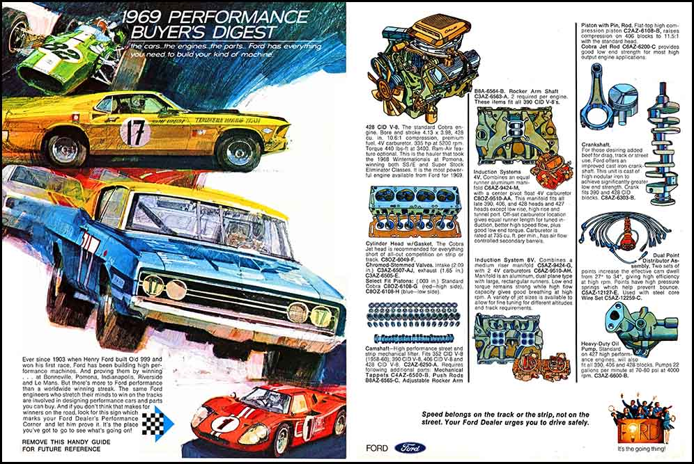 1969 Ford Performance Brochure