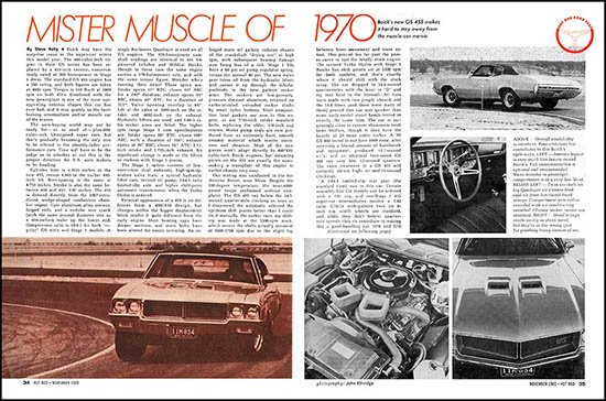 1970 buick gs stage 1 tests