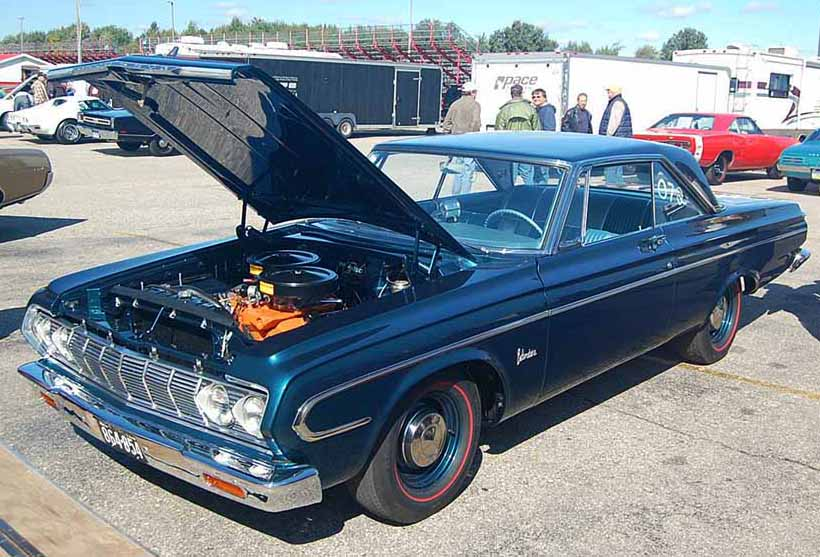 Tom Hoover 1964 Plymouth Max Wedge