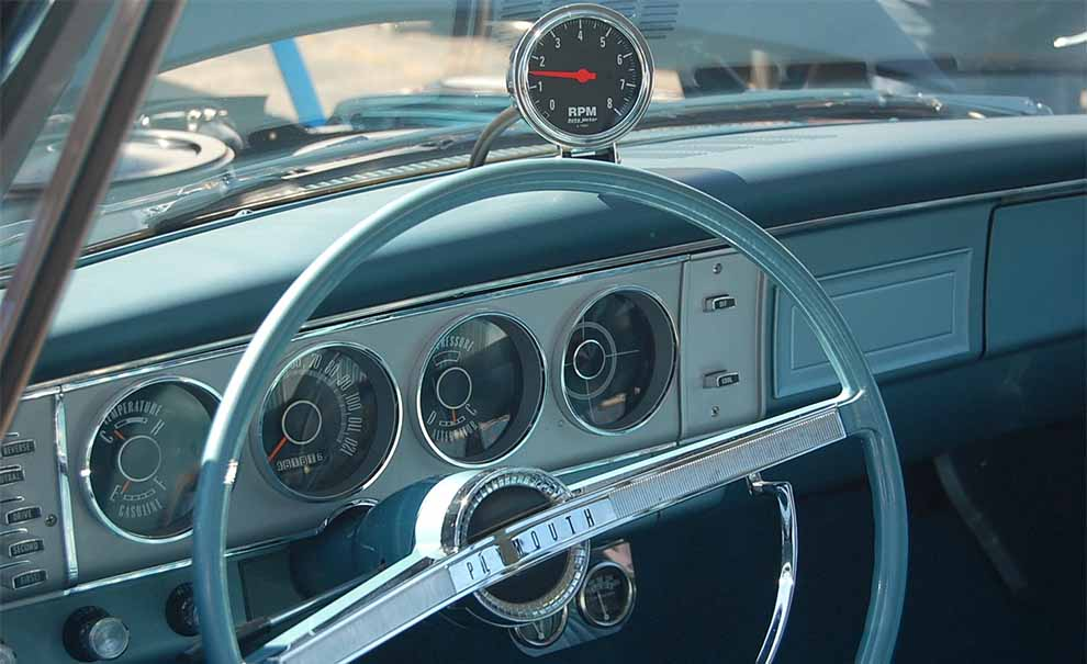 1964 Plymouth Interior