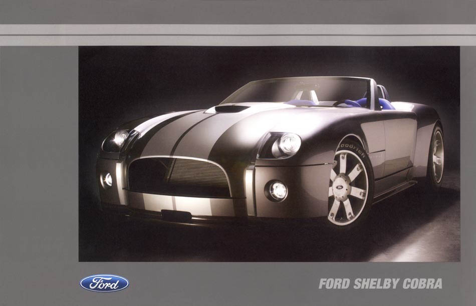 2005 Shelby Cobra Media Kit