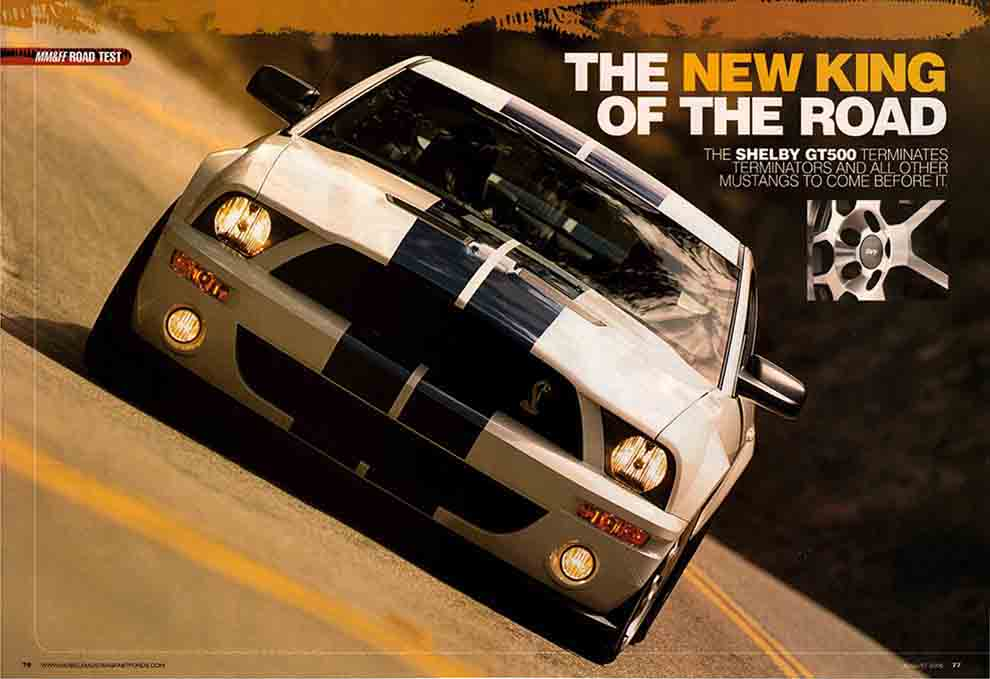 2007 Shelby Mustang Test