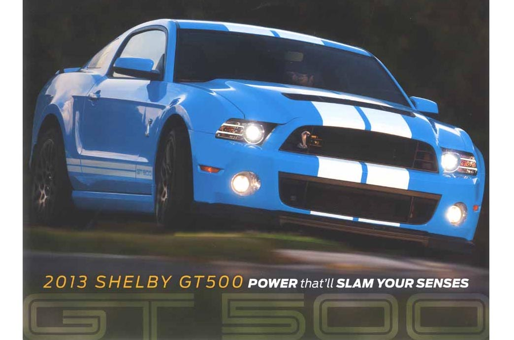 2013 Shelby Brochures