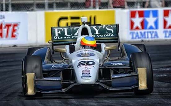 Conway Wind Indy Car Long Beach