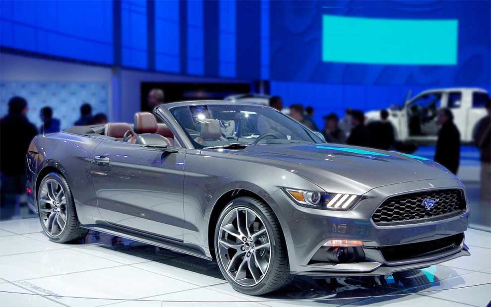 2015 NAIAS Star Car - the Mustang