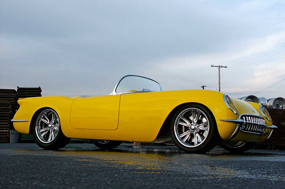 Steve Pratt's Awesome '53 Vette