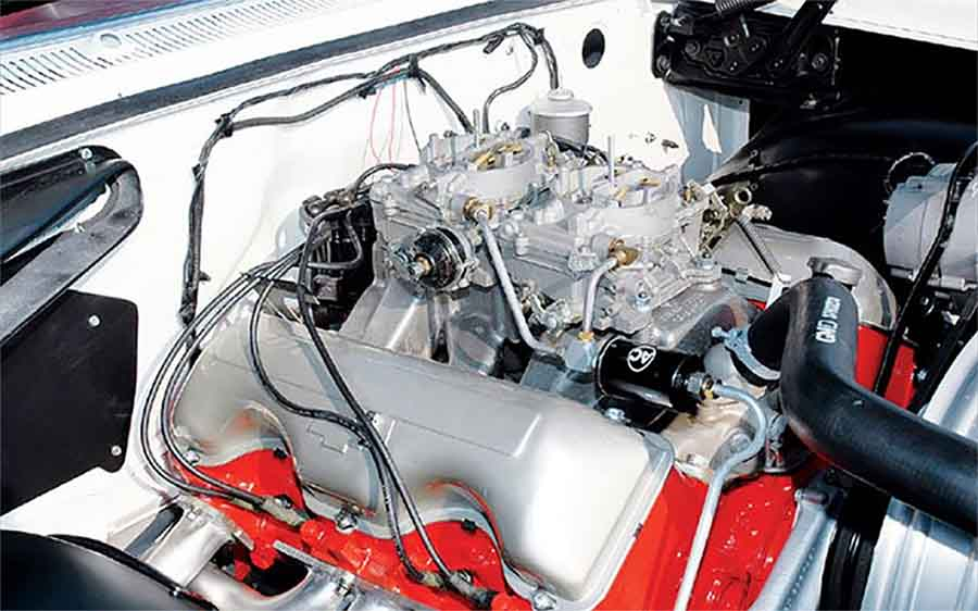 The Z11 Exposed - the special 2 4-barrel manifold