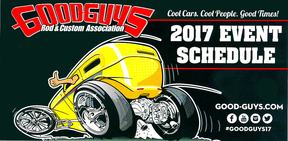 Goodguys 2017 Event Schedule