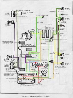 auto history preservation society - tech pages article, Wiring diagram