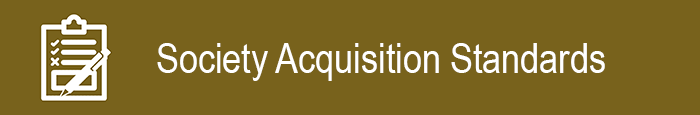 Acquisitions Standards